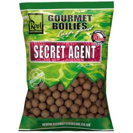 ROD HUTCHINSON Boilies Secret Agent With Liver Liquid 1 kg, 15 mm