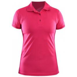One Way Short Sleeve Pique Pink XS