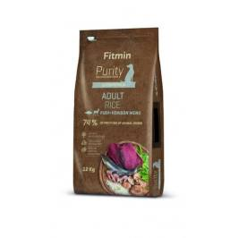 Fitmin Dog Purity Rice Adult Fish & Venison 12 kg
