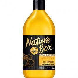 NATURE BOX Body Lotion Macadamia Oil 385 ml Mléka