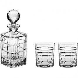 Bohemia Crystal Whisky set 3ks TIMESQUARE